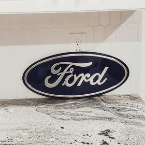 FORD metal decor wall sign